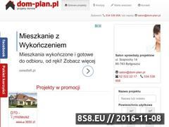 Miniaturka domeny dom-plan.pl