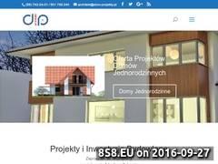 Miniaturka domeny www.dom-projekty.pl