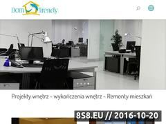 Miniaturka domeny dom-trendy.pl