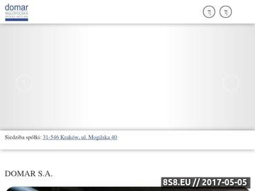 Zrzut strony Wynajem magazynów, pawilonów, biur - Kraków - DOMAR