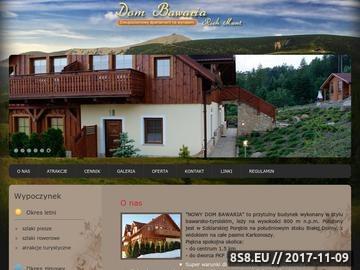 Zrzut strony Noclegi Szklarska Poręba - apartament Rich Mont - dom Bawaria
