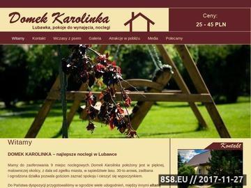 Zrzut strony Domek Karolinka - Lubawka, pokoje do wynaję™cia, noclegi