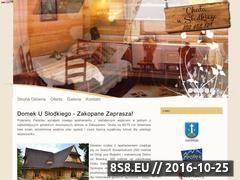 Miniaturka Apartament Zakopane (www.domekzakopane.eu)