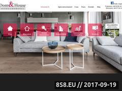 Miniaturka domeny www.domhouse.pl