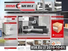 Miniaturka domeny www.domi-meble.pl