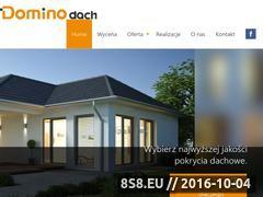 Miniaturka domeny www.dominodach.com