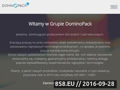 Miniaturka domeny www.dominopack.pl