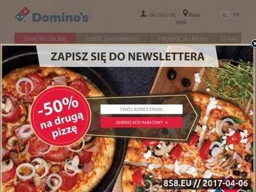 Zrzut strony Pizzeria Mokotów