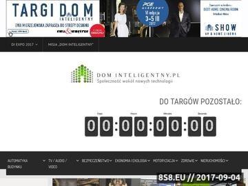 Zrzut strony Dominteligentny.pl - aranżacje wnętrz