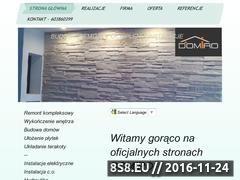 Miniaturka domeny www.domiro.pl