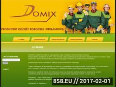 Miniaturka domeny www.domixkluki.pl