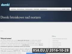 Miniaturka domeny www.domki-na-wczasy.pl