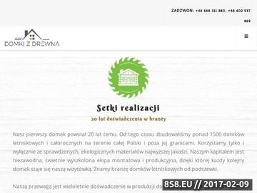 Zrzut strony Zbylut - domki letniskowe