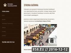 Miniaturka domeny domkihandlowe.pl