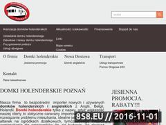 Miniaturka domeny domkiholenderskiepoznan.pl