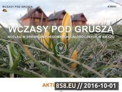 Miniaturka domeny www.domkiwbeskidach.pl