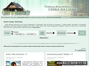 Zrzut strony Białowieża - kwatery