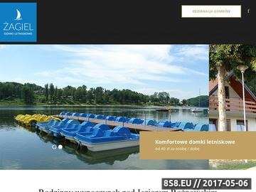 Zrzut strony Domki letniskowe ŻAGIEL - Bartkowa, Gródek nad Dunajcem, Jezioro Rożnowskie