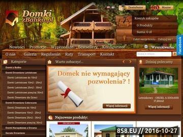 Zrzut strony Domki do 10m2