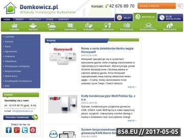 Zrzut strony Poradnik internetowy - Domkowicz.pl