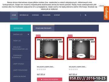 Zrzut strony DomLedy - Żarówki LED