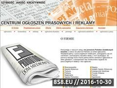Miniaturka domeny www.dommediowy.info