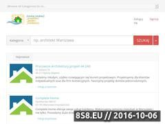 Miniaturka domeny www.domoprojekt.pl
