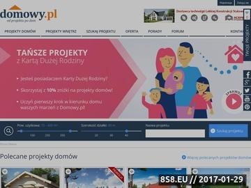 Zrzut strony Od projektu po dom - Domowy.pl