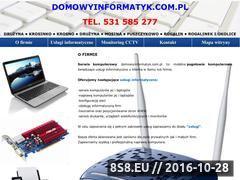 Miniaturka domeny domowyinformatyk.com.pl