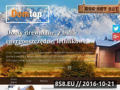 Miniaturka domeny www.domtop.pl