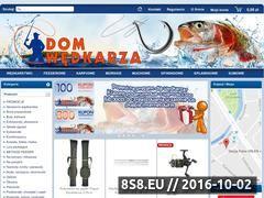Miniaturka domeny www.domwedkarza.pl