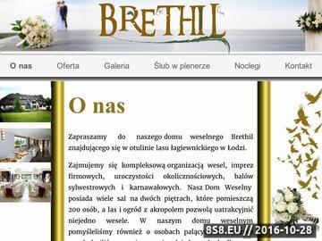 Zrzut strony Witamy w Brethil - Brethil Dom Weselny Łódź