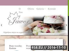 Miniaturka domeny domweselnyradom.pl