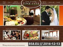 Miniaturka domeny www.domweselnytoskania.pl
