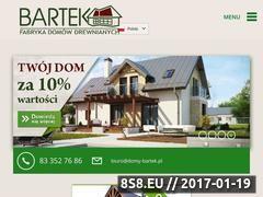 Miniaturka domeny www.domybartek.pl