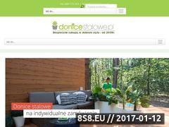 Miniaturka domeny www.donicestalowe.pl