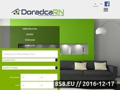 Thumbnail of Real Estate Broker DoradcaRN.pl Poznan, Poland Website