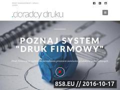 Miniaturka domeny doradcydruku.pl
