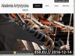 Miniaturka domeny www.doremi.com.pl