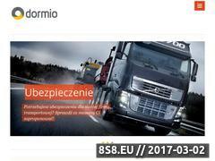 Miniaturka domeny dormio.com.pl