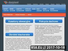Miniaturka domeny www.dorplast.pl