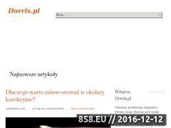 Miniaturka domeny www.dorris.pl