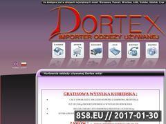 Miniaturka domeny www.dortex.pl