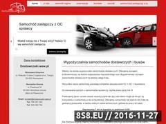 Miniaturka domeny dostawczaki.waw.pl