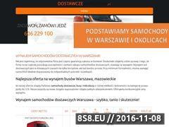 Miniaturka domeny www.dostawczewarszawa.pl