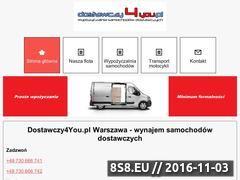 Miniaturka domeny dostawczy4you.pl