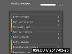 Miniaturka domeny www.doszkalanie.net.pl