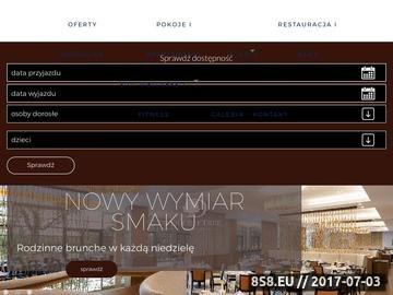 Zrzut strony DoubleTree by Hilton Hotel Warszawa