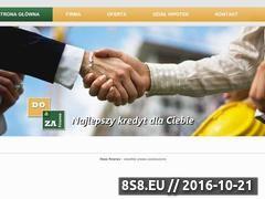 Miniaturka domeny dozafinanse.pl