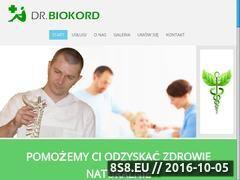 Miniaturka domeny www.dr.biokord.com.pl